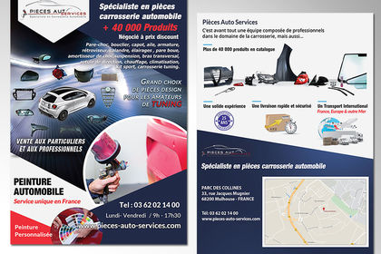 Flyer Pieces auto services