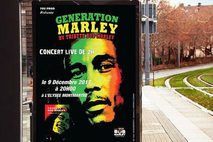 Affiche Génération Marley