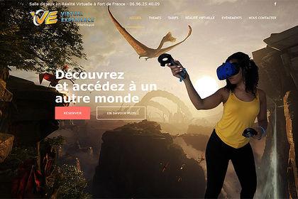 Réalisation site Virtual Experience