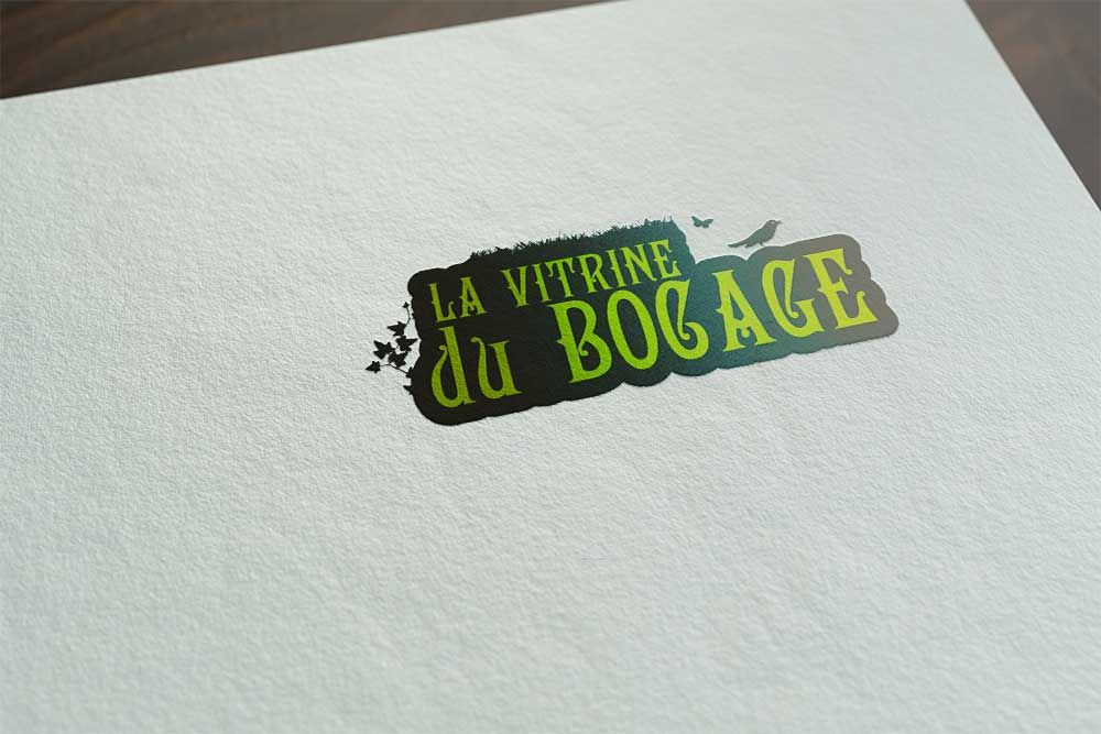 "Logo ""La vitrine du bocage"""