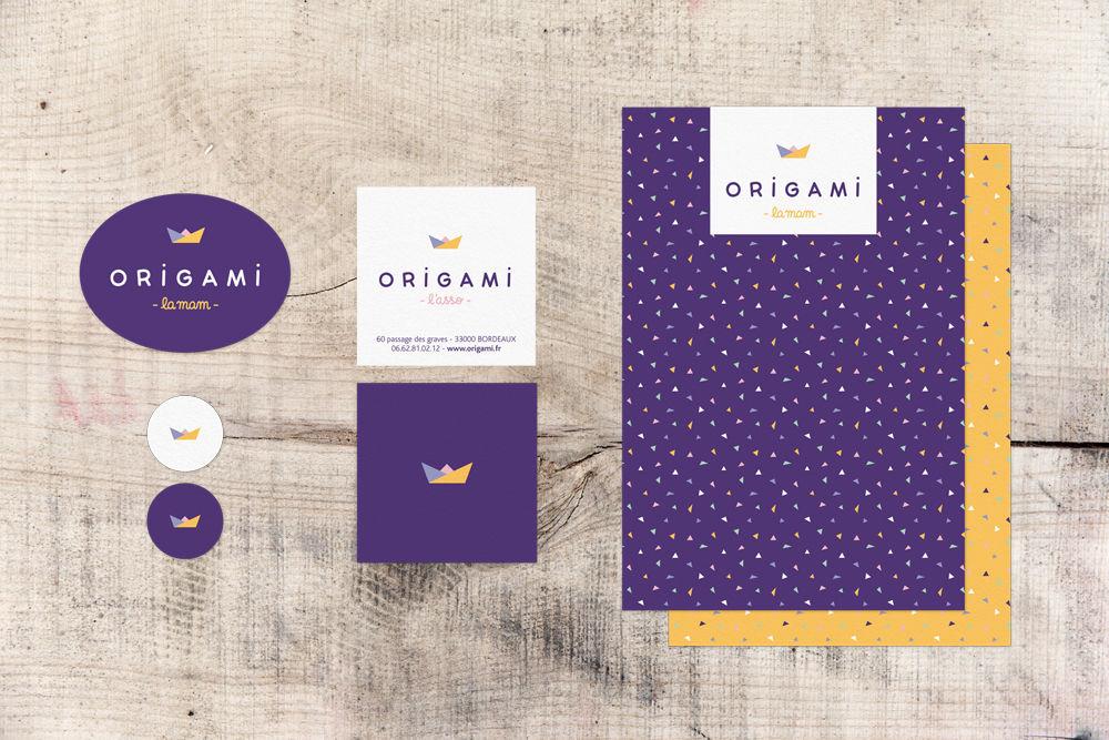 MAM Origami { identité visuelle }