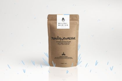 Malou & Marius { identité visuelle + packaging }