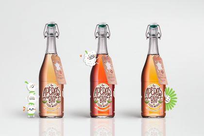 Les Apéros Bio { identité visuelle + packaging }
