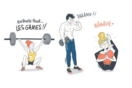 My Training Diary { illustrations }
