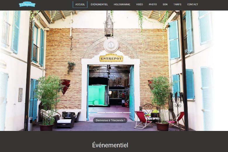 Site Vitrine Hacienda-Studio