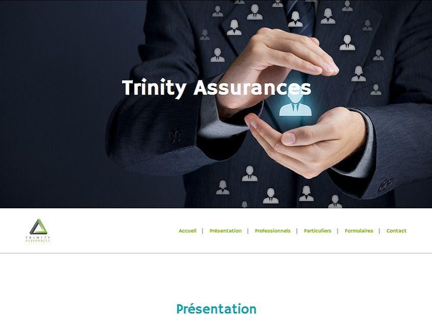 Site vitrine Trinity Assurance