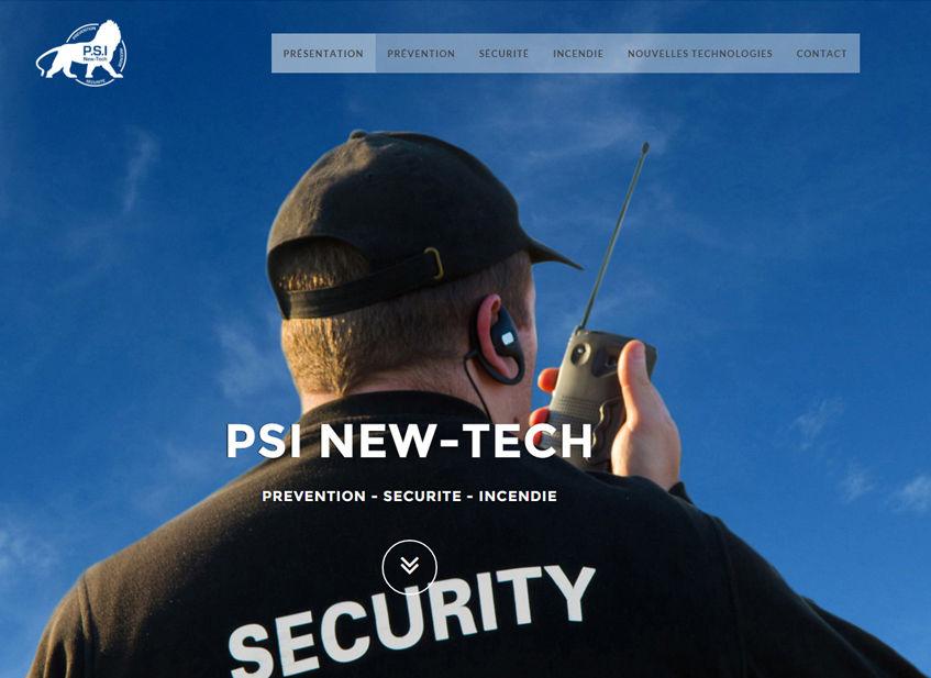 Site Vitrine PSI Newtech