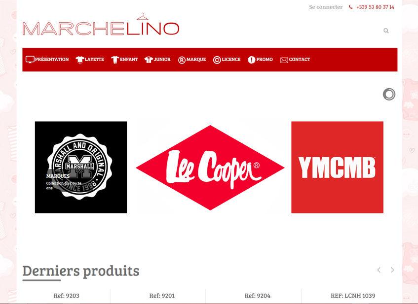 Site Marchand Machelino