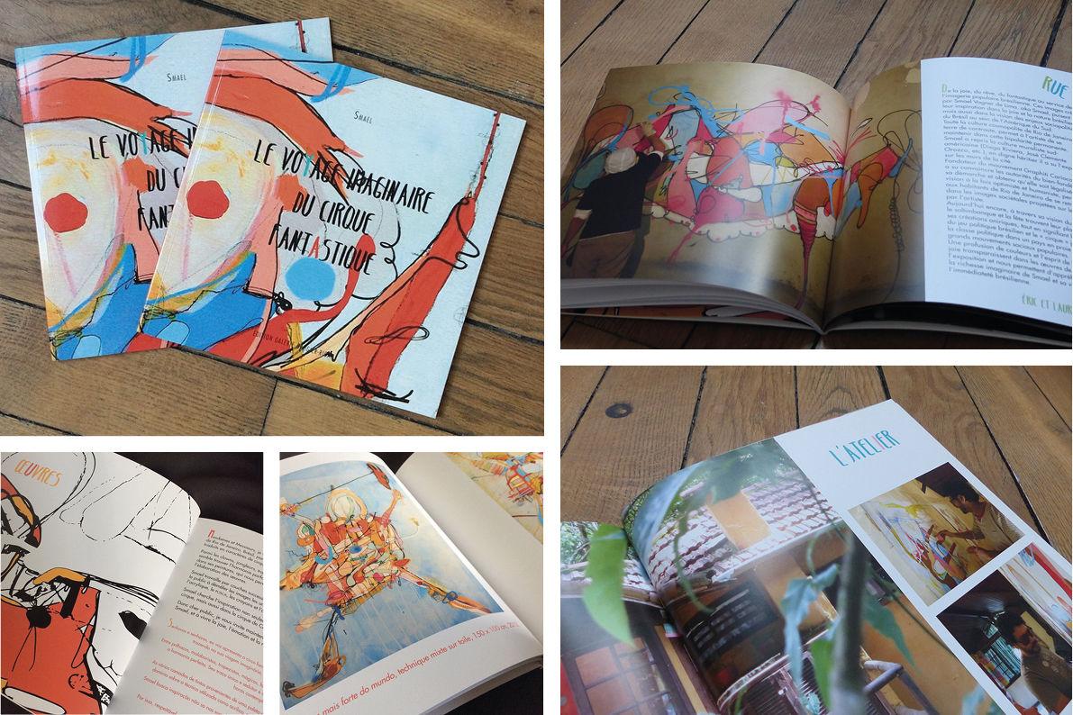 Livre Le voyage imaginaire du cirque fantastique