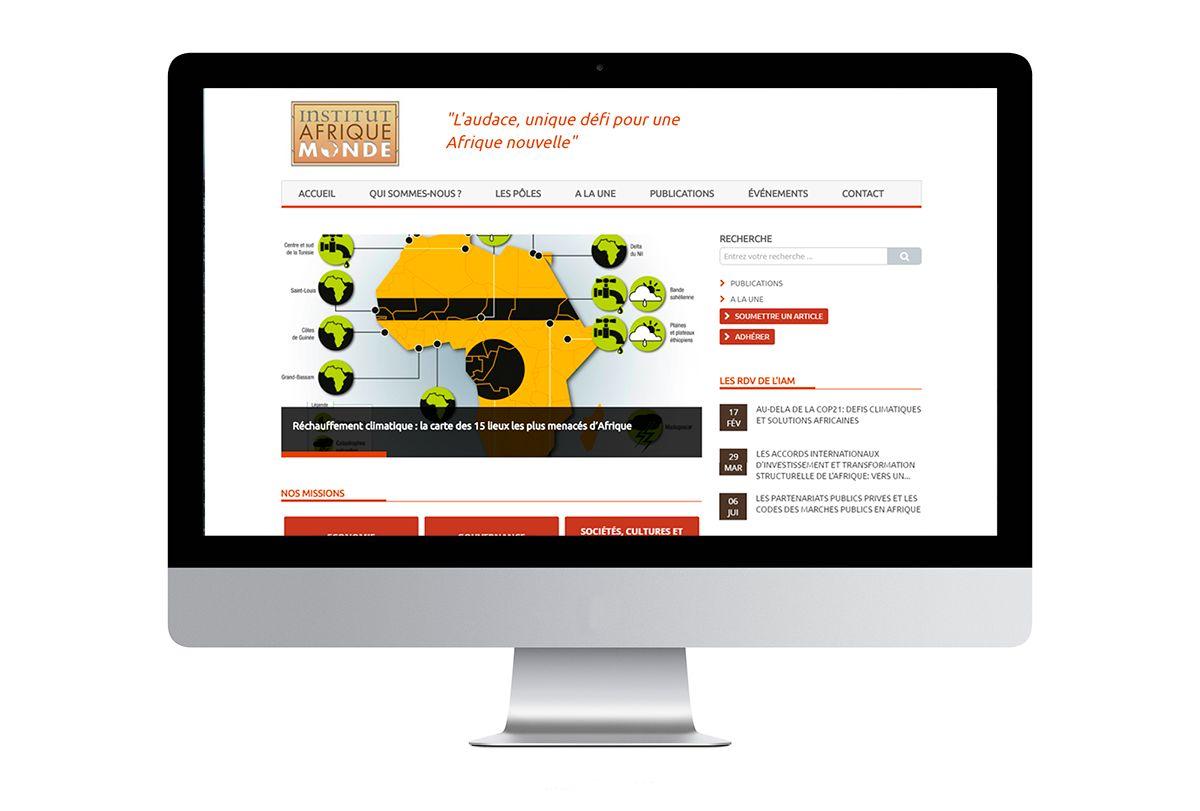 Site Institut Afrique Monde